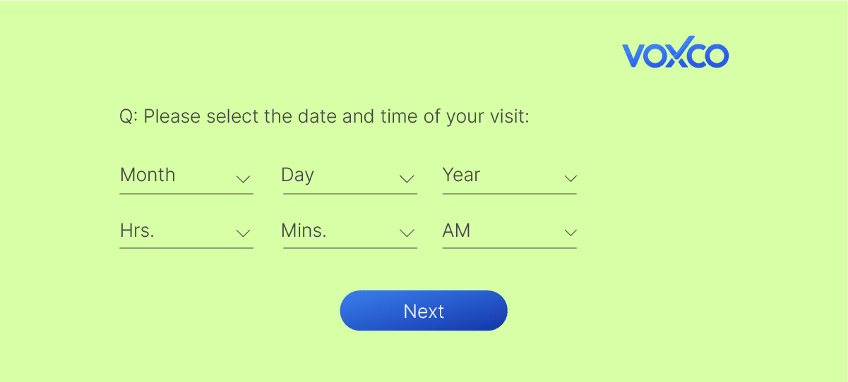 Date and Time question