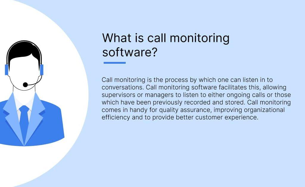 Call monitoring software1