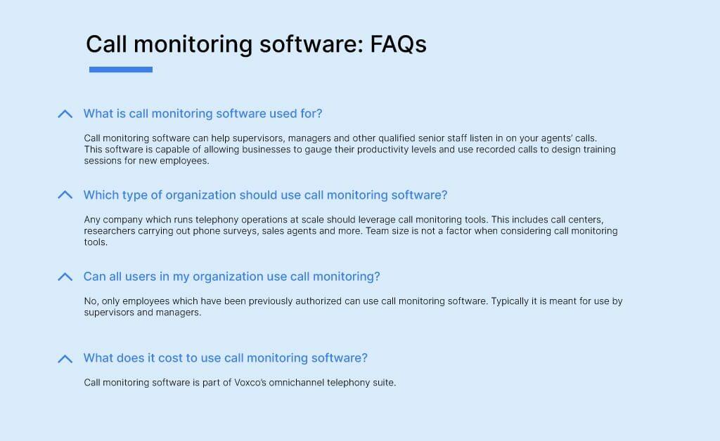 Call monitoring software9