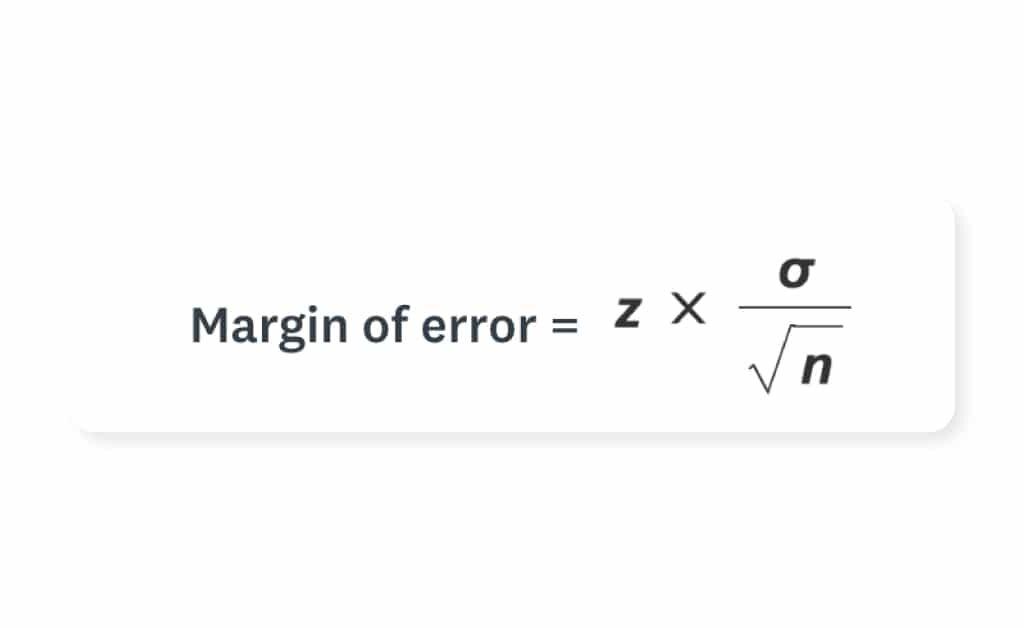 margin of error calculator