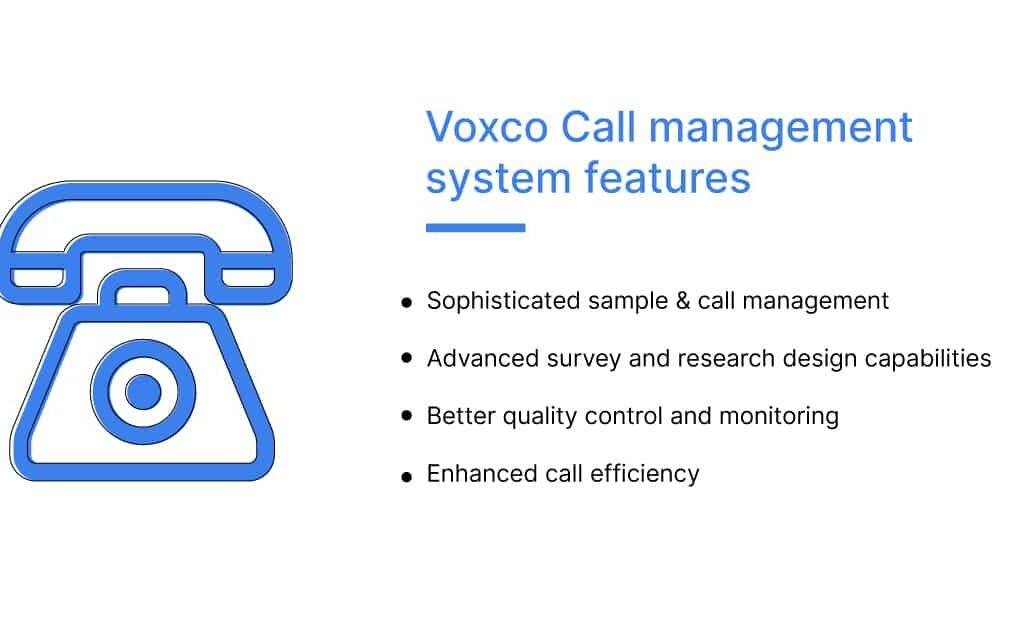 Voxco Call management